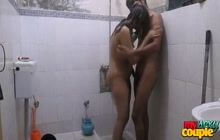 Indian lovers in shower